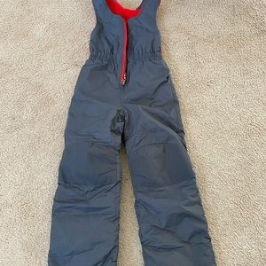 Columbia boys xs Gray snowsuit 4-5 worm once